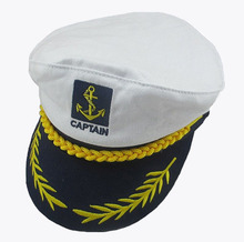 Wholesale Custom Navy Captain Sailor Cap
