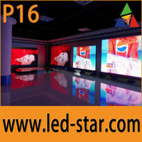 P16 outdoor waterproof big full color LED screen TV popular in Europe