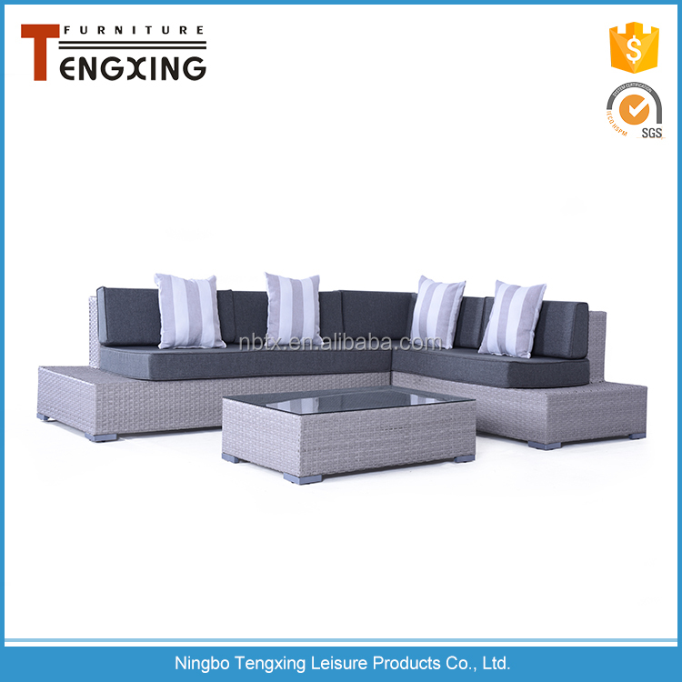 New wholesale price factory ratan garden furniture