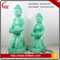 Polyresin carved buddha statue for indoor decor.