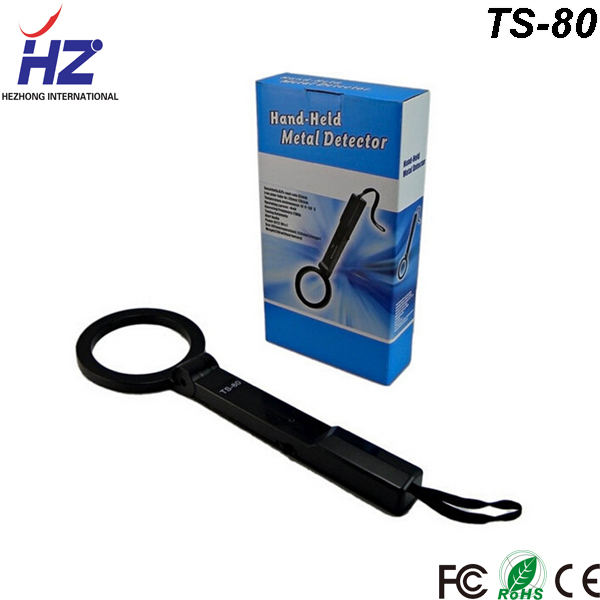 Airport railway station public security systems use Hand Held Metal Detector TS-80