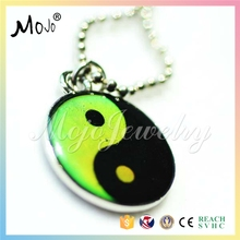 Fashion Printed Fashion Digital Jewellery Bear Mood Stone Charms Ancient Ying Yang from China Divination Pendulum