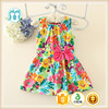 Fashion 2016 New adorable children clothes kids dress for girl children boutique clothing spring beginning new items for babies
