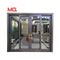 Aluminium glass sliding door aluminium door and window in Guangzhou Factory