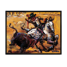 Famou Painter Semi Abstract Horse Handmade Reproduction Oil Painting
