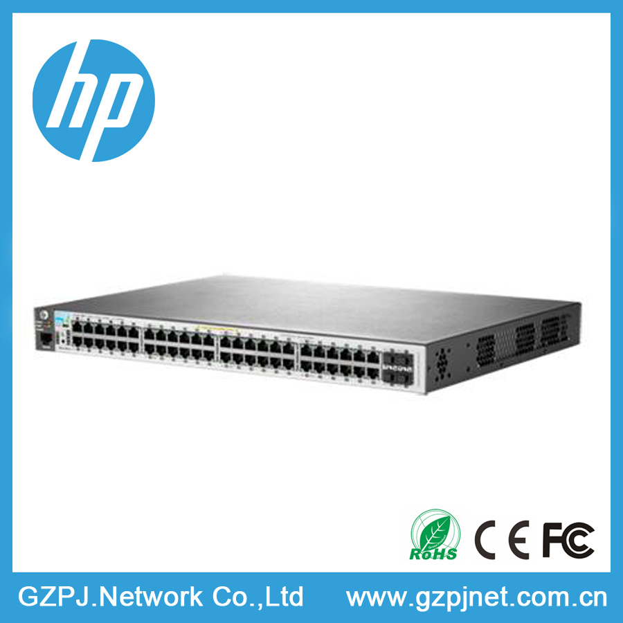 J9772A HP 2530 48G PoE Switch Managed Network Switch Best Gigabit Switch 48 10/100/1000 PoE+ ports and 4 GbE SFP slots