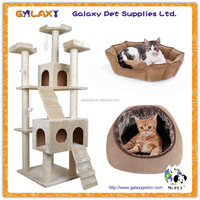 wholesale high quality house cartoon; outdoor wooden tree house; pet bed supplier