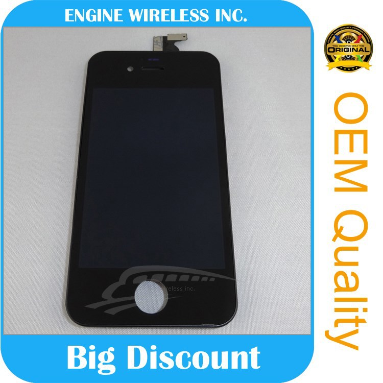 2015 big discount hot sale wholesale original lcd display for iphone 4s low price