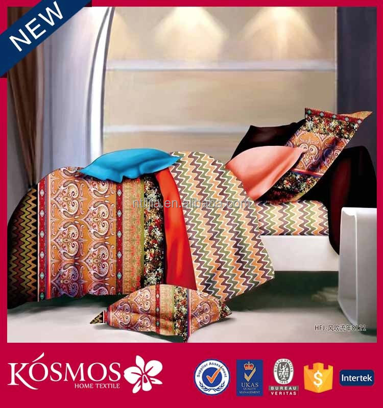 KOSMOS bedding set ian cotton sheets bedding 100% cotton custom printed bedding sets bed sheets