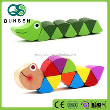 Popular Funny Wooden Educational Baby Toy