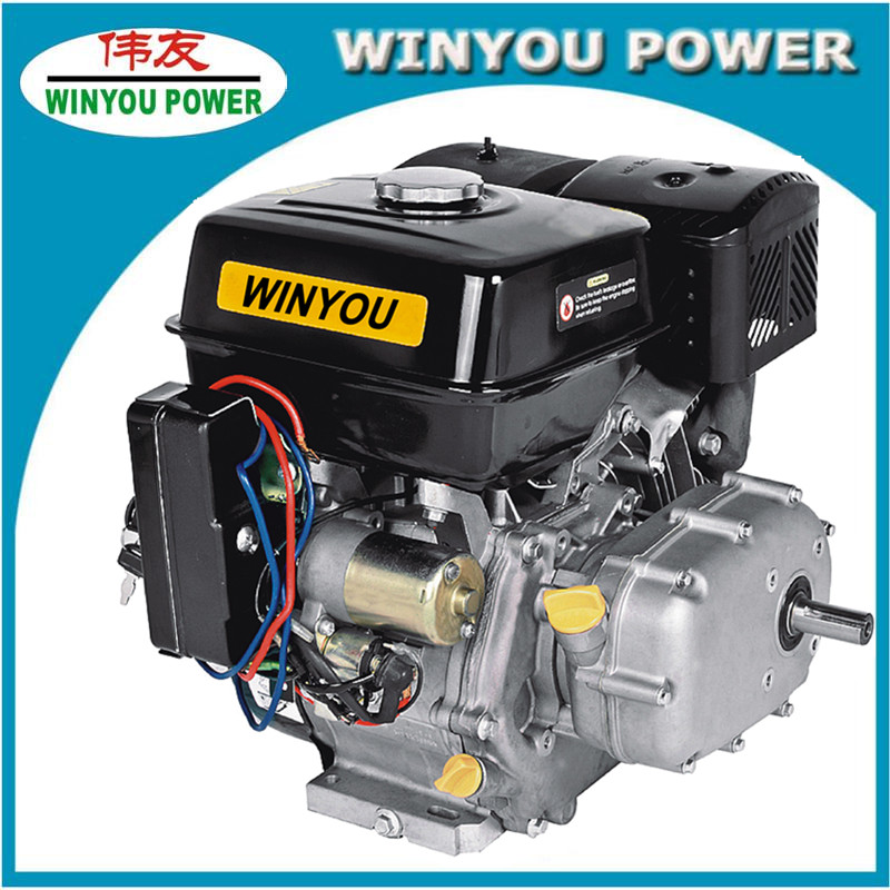 13HP honda engine with chain reducer and electric start gasoline engine