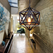 European retro hanging lamp vintage industrial kitchen table pendant lights