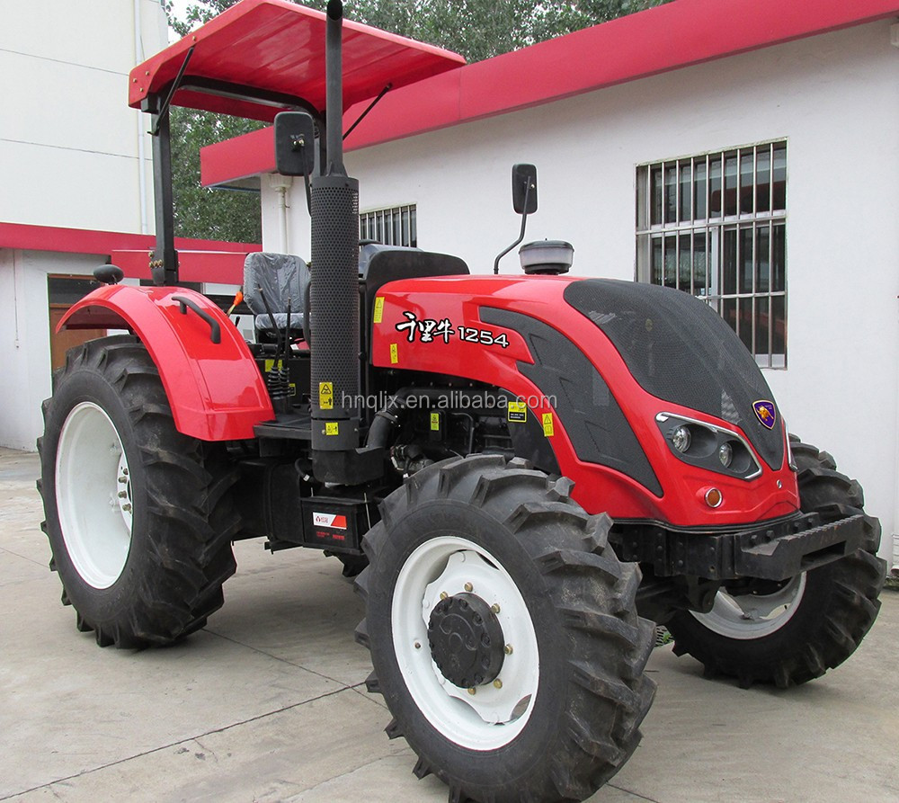 YTO engine tractor 110hp 4*4 farmland tractor machinery