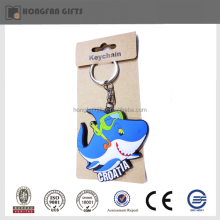 Creative rubber souvenir fridge magnet key chain