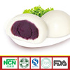 30g chinese frozen food cooked by steaming Purple Sweet Potato Steamed Bun