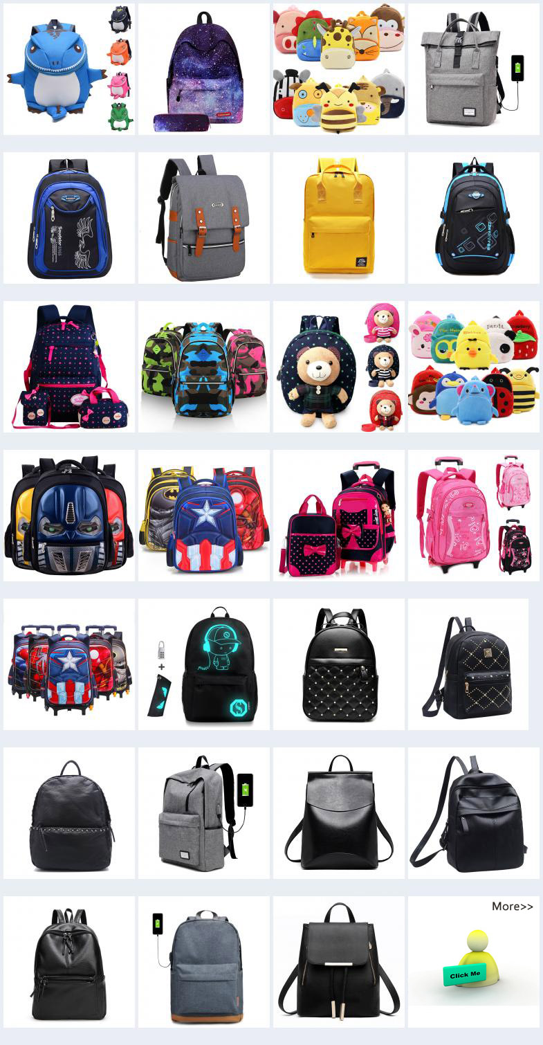 Schoolbag Pupil Cartoon Child Waterproof Shoulder Bag School Bags Backpack