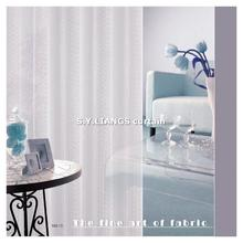 Taiwan fabric supplier S.Y.LIANGS, germany decorative curtain, laser cut curtain