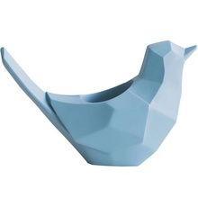 Polyresin cute origami bird shape pen holder
