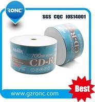 52X 700MB 80MIN Blank CD-R OEM Logo with side label