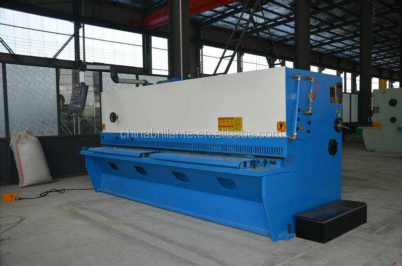 JIANGSU NANTONG: QC12Y Series Hydraulic Swing Beam Shear