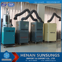 Industrial air purifier/mobile dust collector/solder fume extractor