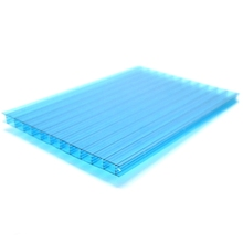 10mm 16mm 18mm 3 wall polycarbonate roofing sheet for garden house