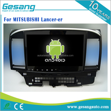 Android 6.0 2 din car dvd player for MITSUBISHI Lancer-er with wifi 3g internet BT DVR IPOD 1080P TV tuner