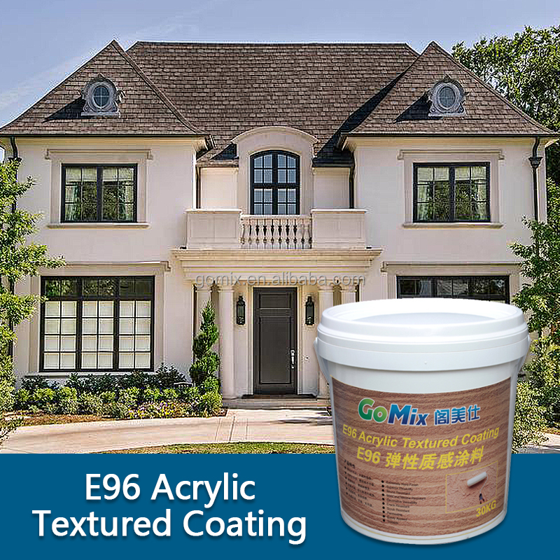Multiple Textures and Colors E96 Decorative Stucco Coating