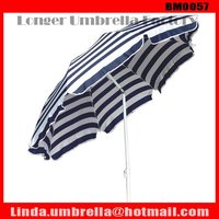 [BM0057] windproof beach umbrella with tilt umbrella Sun Parasol