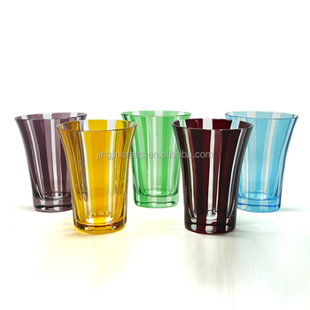 Japanese hand cut glass drinking cup tumbler cheap price low moq