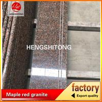 bush hammered china red granite price in kerala promotion stair trend