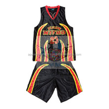 sublimation basketball uniforms double sides,costum printed sports wear