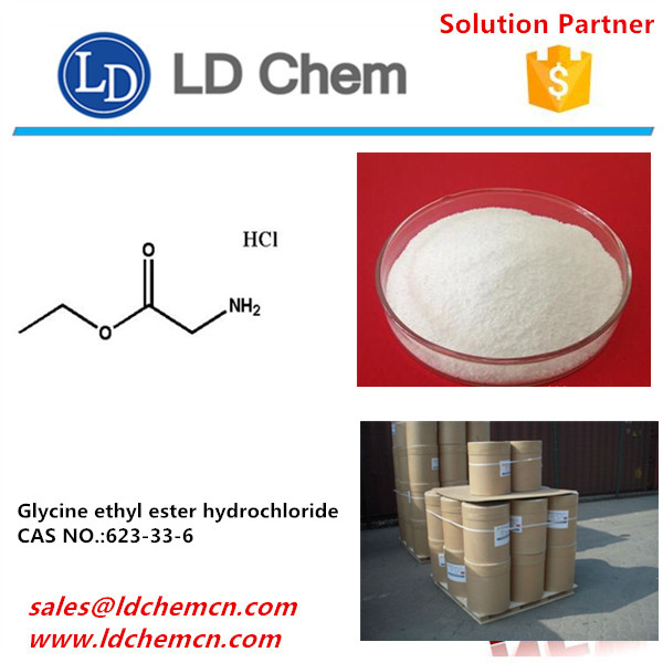 Factory supply Glycine ethyl ester hydrochloride CAS 623-33-6