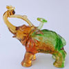 Polyresin lively home decoration animal elephant figurine gift sets