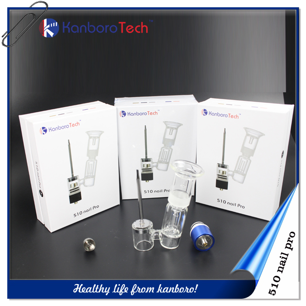 Clearomizer tank system dab rig wax vaporizer heating fast 510 nail pro e cigaer