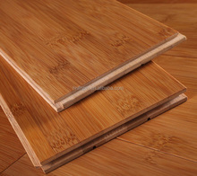 Carbonized horizontal solid Click Locked bamboo flooring