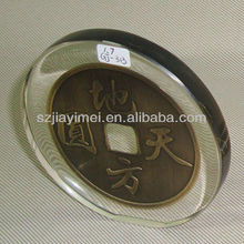 wholesale coin paperweight with EXW price