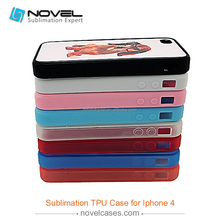 For iPhone4/4s 2D sublimation tpu cover case