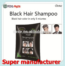 Harmless noni plant essence hair blackening shampoo factory directly sell
