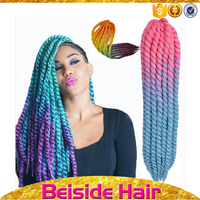 African american hair products synthetic hair extensions braids multi-colored braiding hair