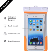 Top Sale Waterproof Valuables Case Bag for iPhone 6/6s with IPX8 Certificated