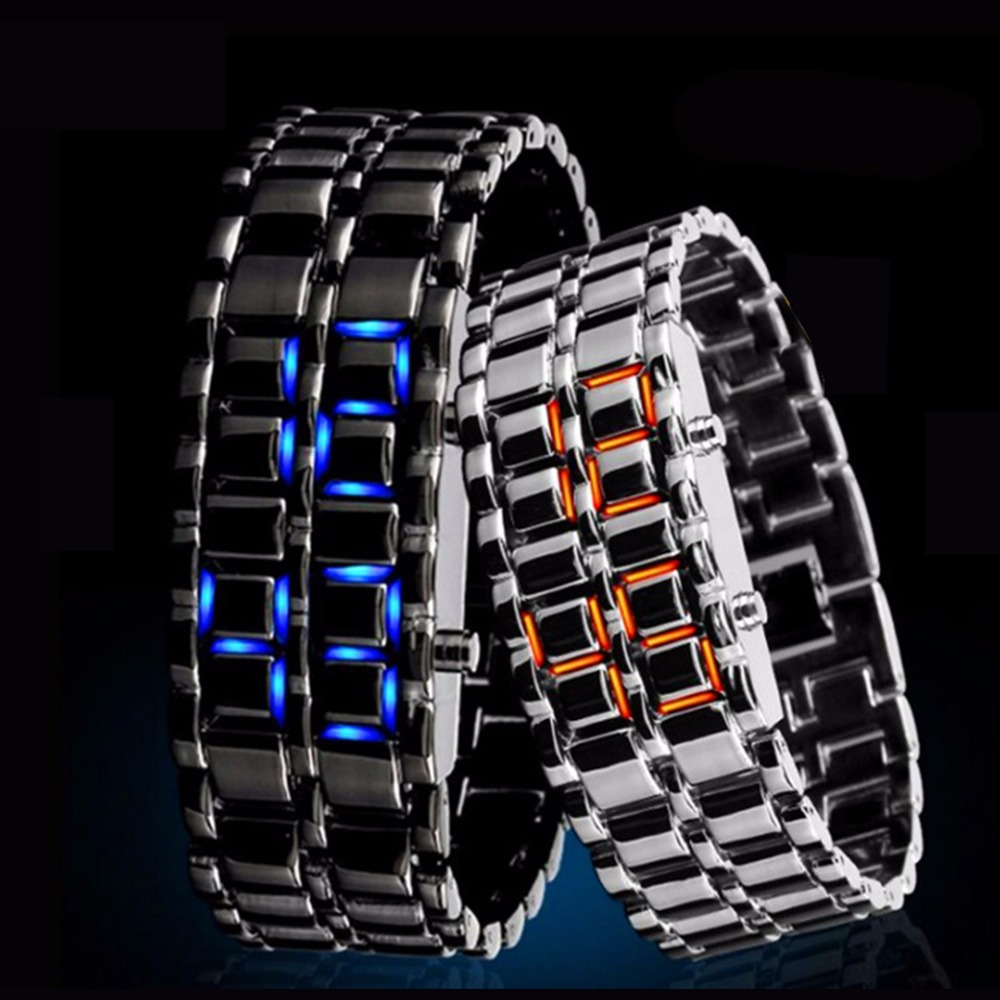 2017 latest fashion high quality factory price LED watch
