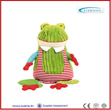 singing plush toys Croakos The Frog