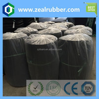rubber foam roller/round rubber foam