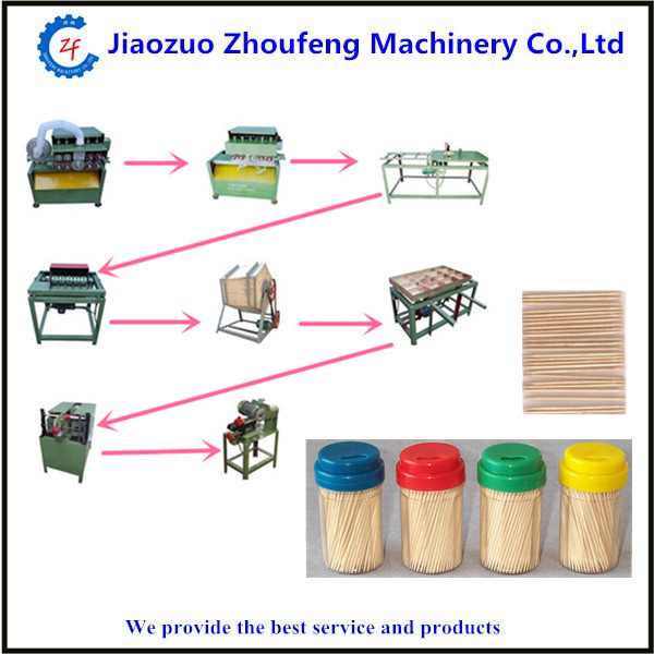 Tooth pick machine bamboo toothpick making machine automatic wood toothpick processing machine price