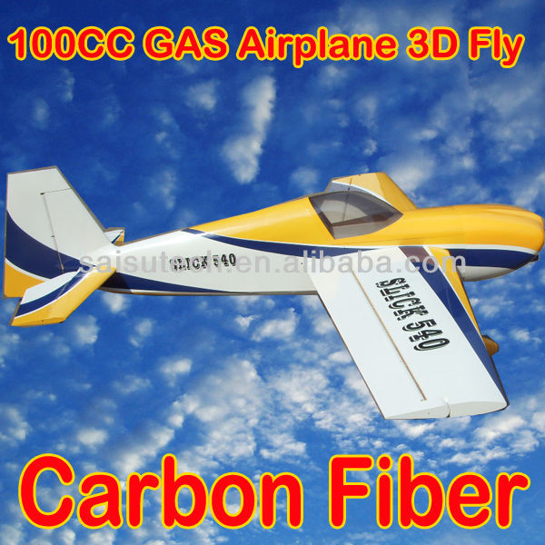 100cc gas engine rc airplane super flying model airplane slick 540 100CC oem manufacturer