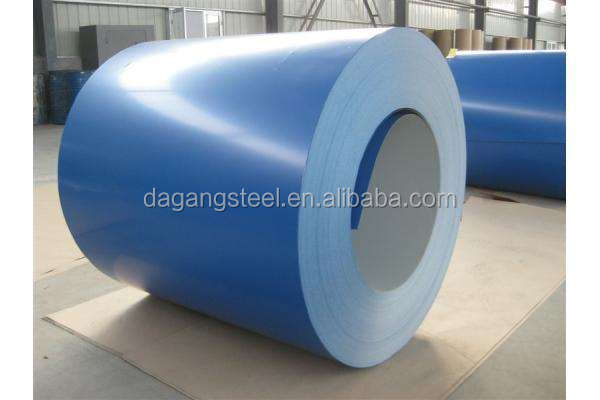 produce High-grade color coated steel coil,PPGI