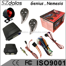 one way alarme anti-hijacking safeguard car alarm with LED indicator
