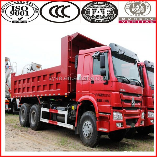China Truck Manufacturer 3 axles 10 wheels sinotruk howo dump truck price