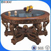 D-0090A Designer foshan furniture luxury dining table wood dining table and bench